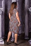 Легкое летнее платье,ткань супер софт,размеры:50,52,54,56., фото 3