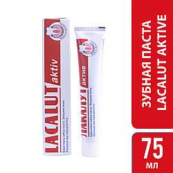 Лакалут актив зубна паста 75 мл, 1 шт.