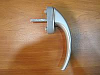Ручка оконная EGE 8 п. аллюминиевая серая