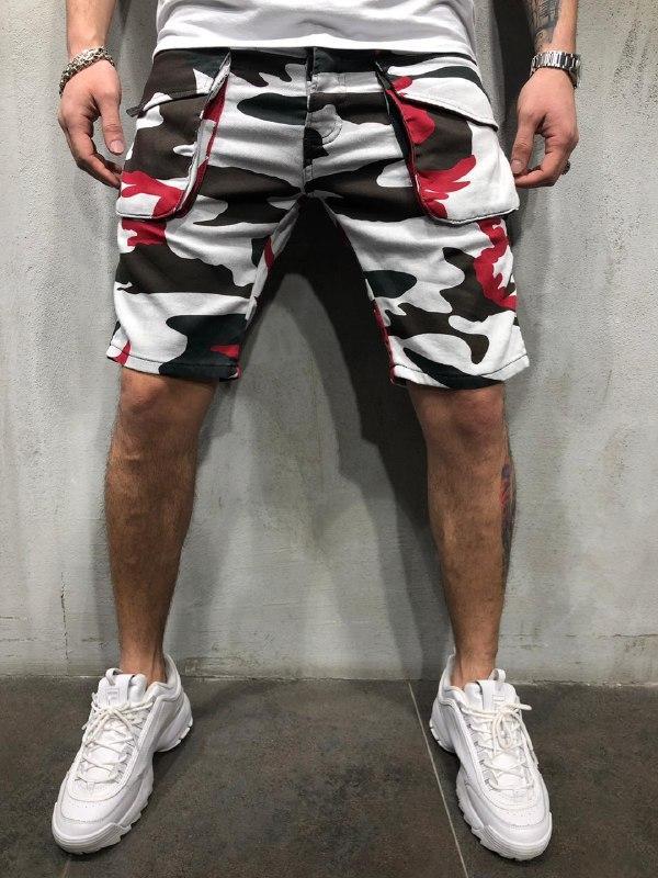 😜Мужские камуфляжные шорты