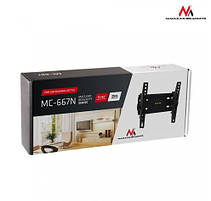 Наклонный кронштейн для телевизоров 23-43 диагонали Maclean MC-667N  (max VESA: 200 x 200), фото 3