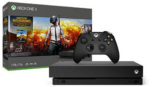 Microsoft Xbox One X 1TB + Игра PUBG