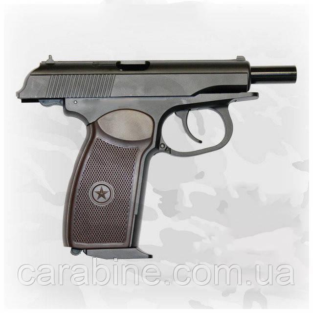 Пневматический пистолет SAS PM KMB-44 AHN Blowback Пистолет Макарова ПМ блоубэк газобаллонный CO2