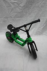 Детский Байк Orion 503 зеленый в коробке
