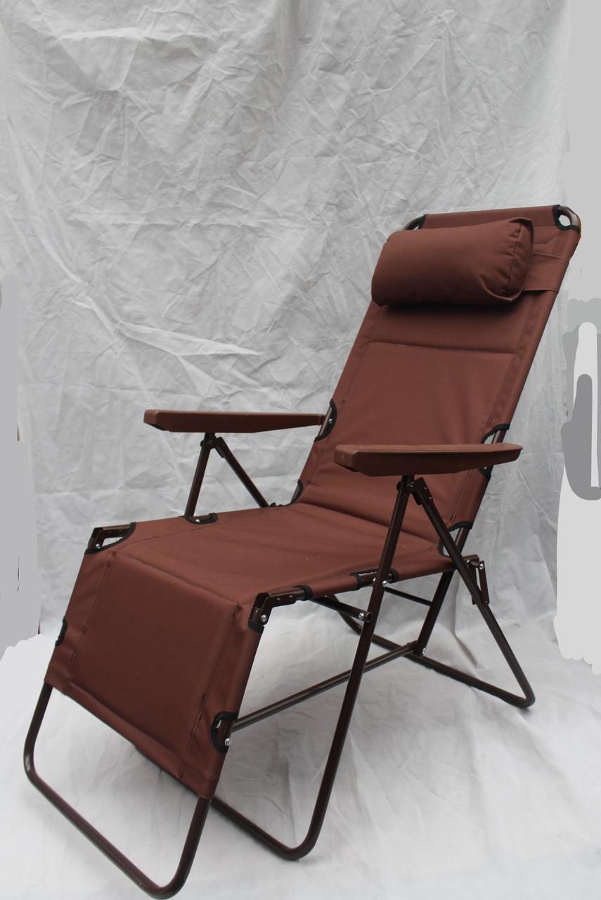 """Шезлонг - кресло раскладное """" Фиджи"""" для отдыха"""