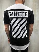 😜Мужская футболка OFF WHITE BALANSIAGA PARIS