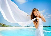 Рекомендуем купить белый платок!
