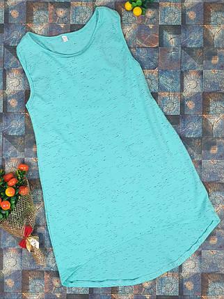 Летний простой сарафан для девочки  р.110-122 мята, фото 2