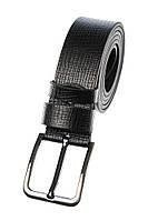 Ремень со стальной пряжкой 97P001 (Черный)