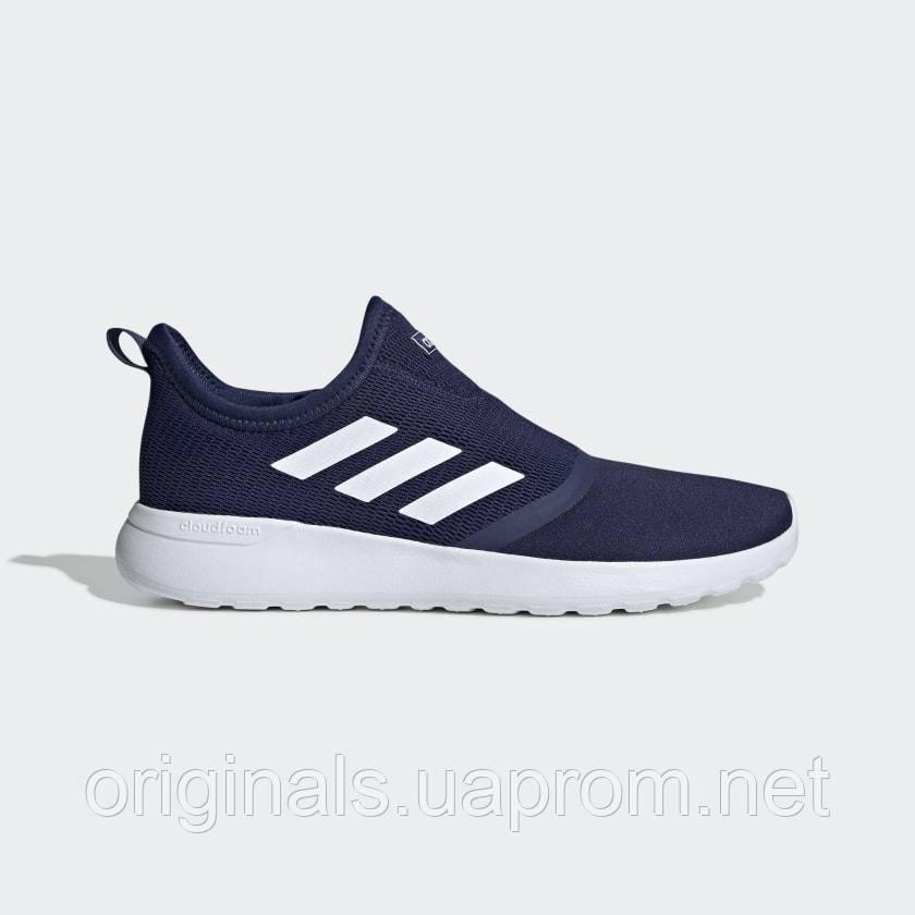 Кроссовки мужские Adidas синие LITE RACER SLIPON F36664