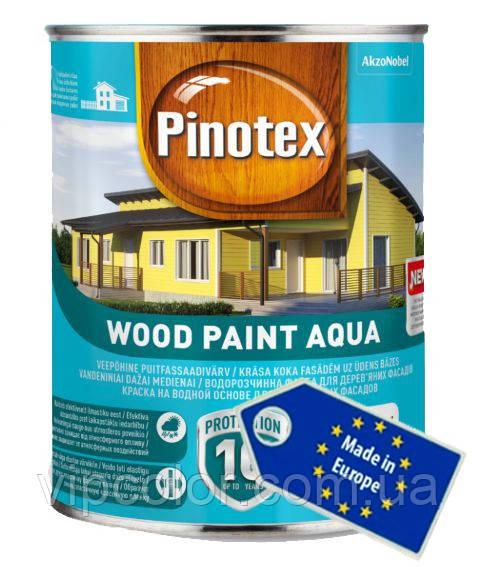 PINOTEX WOOD PAINT AQUA тонир.база ВМ 2,38л полуматовая краска для наружных работ