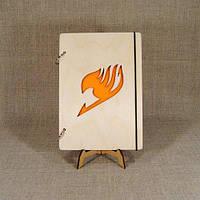 Блокнот А5. Скетчбук. Блокнот с деревянной обложкой. Блокнот в деревянном переплете. Деревянный блокнот, фото 1