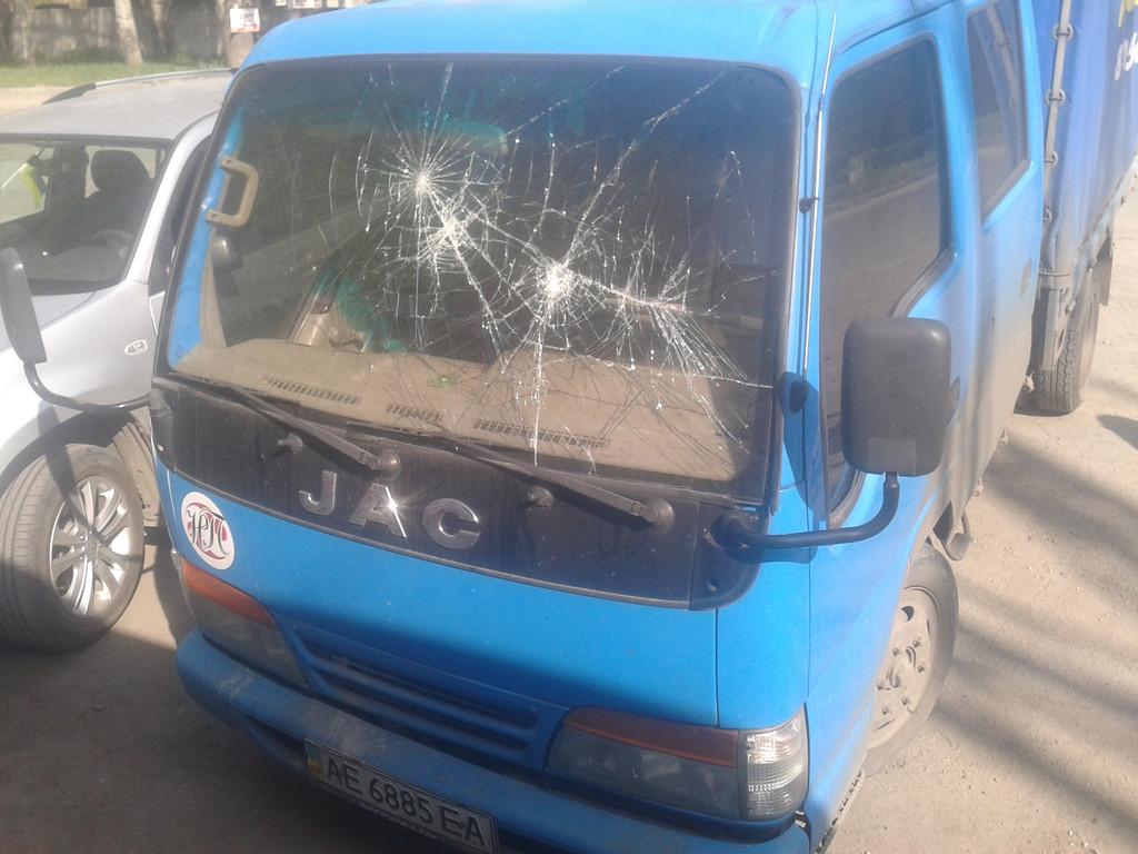 Замена лобового стекла JAC 1020  в Денпропетровске, Никополе
