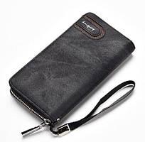 ✅ Клатч чоловічий, Baellerry, колір - Чорний, гаманець Балері, це містке, шкіряне портмоне