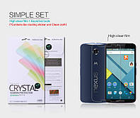 Защитная пленка Nillkin для  Motorola Nexus 6 phone глянцевая