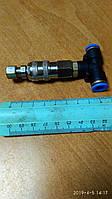 Фитинг-переходник пластиковый пневматический Т-образный под шланг Ø 8 мм