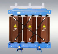 Трансформатор напряжения ТЛС-630 кВА 10/04 кВ силовой трехфазный сухой