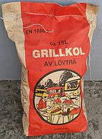 Уголь древесный 2,5кг для мангалов, барбекю