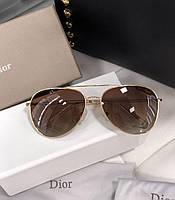 Женские солнцезащитные очки авиаторы с поляризацией (2502)