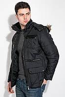Куртка мужская удлиненная 181V001 (Черный)