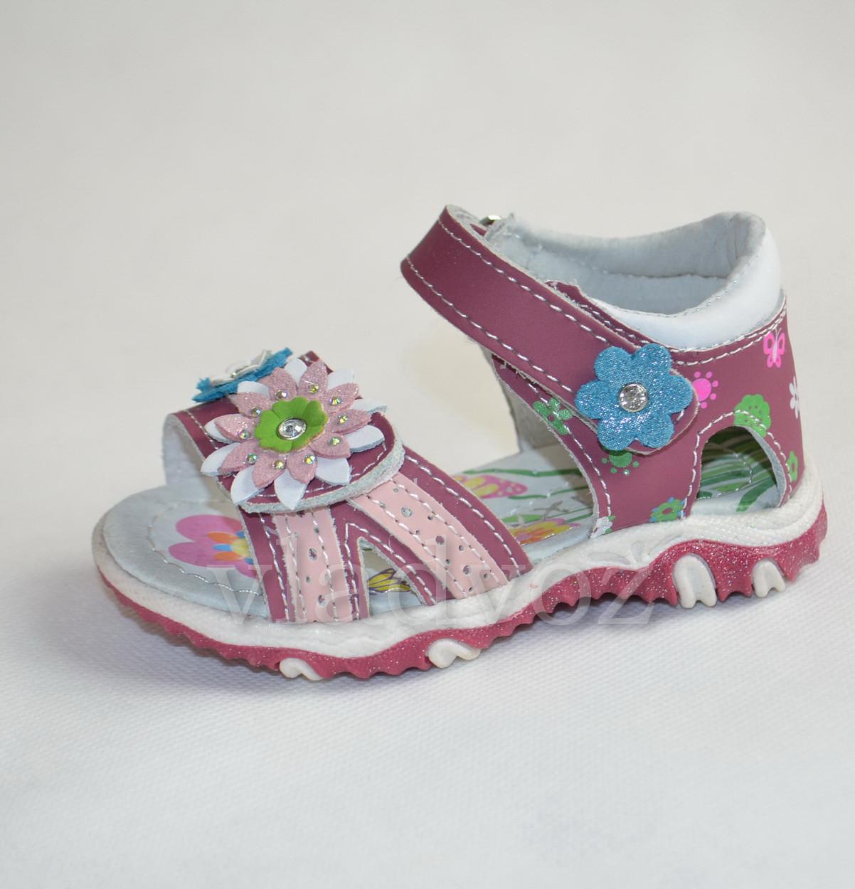 Босоножки, сандалии кожа 22р MXM