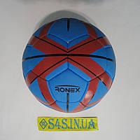 Мяч футбольный Cordly Ronex (MLT), сине-красный, р. 5, ламинированный