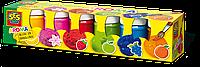 Гуаш - АРОМА (6 кольорів з ароматом, в пластикових баночках), фото 1