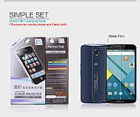 Защитная пленка Nillkin для Motorola Nexus 6 phone матовая