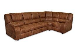 Кожаный угловой диван Монако
