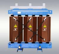 Трансформатор напряжения ТЛС-630 кВА 6/04 кВ силовой трехфазный сухой