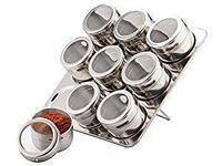 Набор для специй магнитный FRICO FRU 460 SB6009 9 предметов