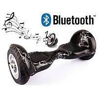 "Гироборд 10"" BT (АКБ Samsung) Гироскутер колеса 10 дюймов, Smartway Balance"