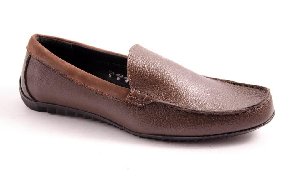 Мокасины мужские коричневые Romani 6116306 р.40-45