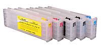 Перезаправляемые картриджи Ocbestjet для Epson SureColor SC-T3200/T5200/T7200 с чипами (5 шт. по 700 мл)