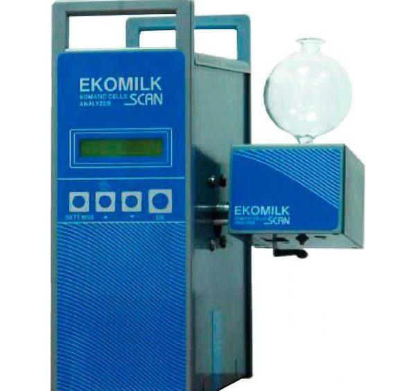 Аналізатор соматичних клітин у молоці EKOMILK Scan