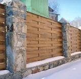 Деревянный забор, фото 2