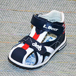 Дитячі сандалики на хлопчика, Little Deer розміри: 21-25