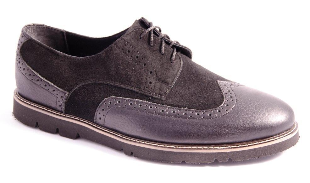 Туфли мужские черные Romani 7120215 р.40-45
