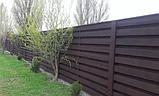 Деревянный забор, фото 3