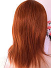 🔥 Яркий оранжевый огненного цвета парик, из натуральных волос 🔥, фото 9