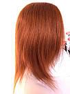 🔥 Яркий оранжевый огненного цвета парик, из натуральных волос 🔥, фото 10