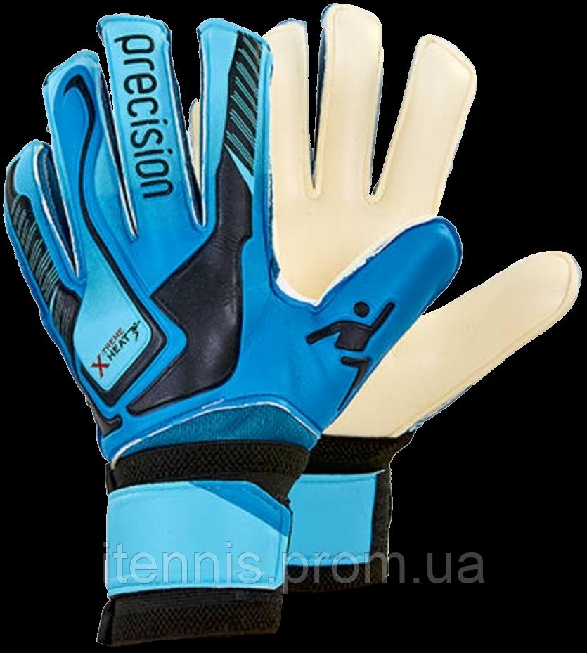 Перчатки вратарские PRECISION (p. 5,6,7) с защитными вставками NEW