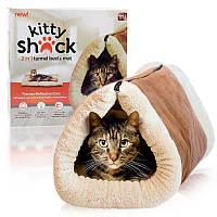 Коврик домик туннель для кошек 2 In 1 Kitty Shock Tunnel Bed Mat 130757