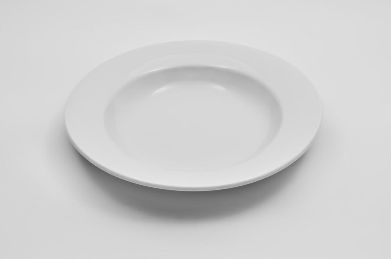 Тарелка суповая из фарфора, объем 350 мл.