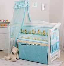 Детская постель Twins Standart Утята с шариками С-025,8 предметов.