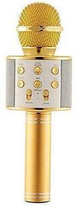Беспроводной  микрофон караоке WSTER WS-858  bluetooth + колонка