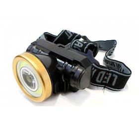 Акумуляторний на лобовий ліхтарик 0509C COB