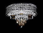 Светодиодная LED люстра СветМира с пультом управления VL-4951/600/6+4    (хромированная), фото 3
