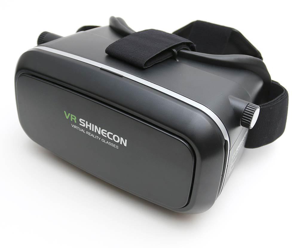 Очки виртуальной реальности VR Box Shinecon 3D Glasses черные с пультом