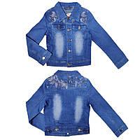 Джинсовая куртка подросток 7-14 лет для девочки Венгрия, фото 1